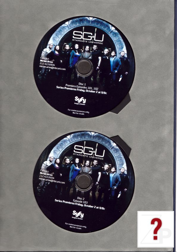 The three part series premier/pilot on DVD