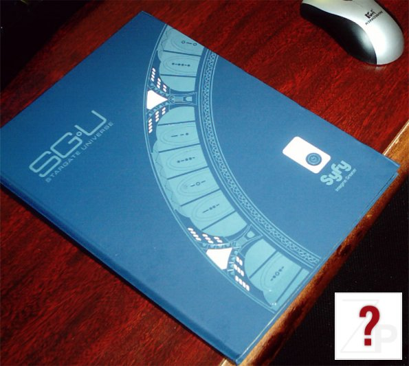 Stargate Universe press kit cover